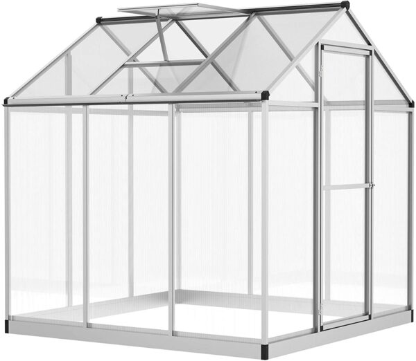 Outsunny Stable Outdoor Walk-in Garden Greenhouse